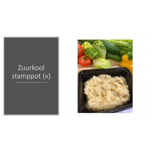 Zuurkool stamppot (v)