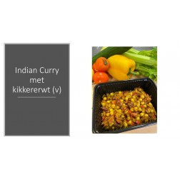 Indian Curry met kikkererwt (v)