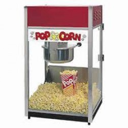 Popcorn machine + kraam